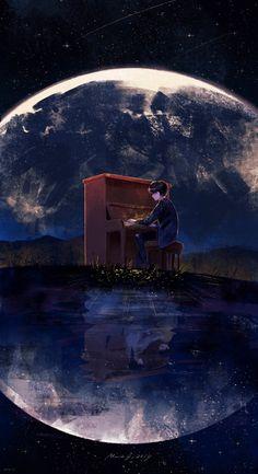 Anime Scenery Wallpaper, Cartoon Wallpaper, Animes Wallpapers, Cute Wallpapers, Aesthetic Art, Aesthetic Pictures, Foto 3d, Bts Wallpaper Lyrics, Bts Backgrounds