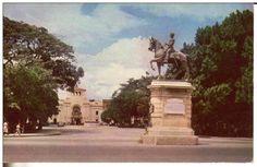 Plaza Bolívar de Maracay. 1962