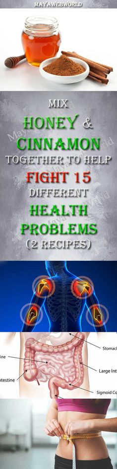 Mix Honey and Cinnamon Together to Help Fight 15 Different Health Problems (2 Recipes) – MayaWebWorld