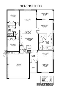 Versatile Formal Living And Dining Room Combo, Open Family Room And