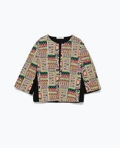 Image 7 of EMBROIDERED JACKET from Zara