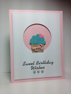 Create a Cupcake by beesmom - Cards and Paper Crafts at Splitcoaststampers