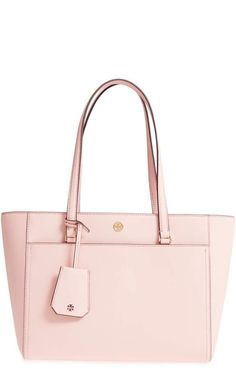 a52b591b0d07 cute light pink tote  Tory Burch Small Robinson Leather Tote  purses  totes