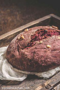Beetroot & Honey Bread