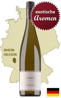Unser Tipp: Dreissigacker Riesling trocken - http://weinblog.belvini.de/dreissigacker-riesling-trocken