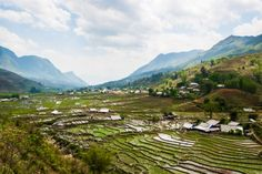 Global Gal Sarah trekking in Sapa, Vietnam