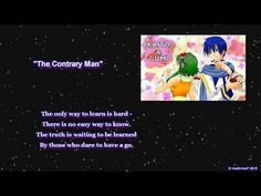 Unusual pairing? I don't think so! [GUMI] [KAITO] The Contrary Man [ORIGINAL] Unusual song? I don't think so either!