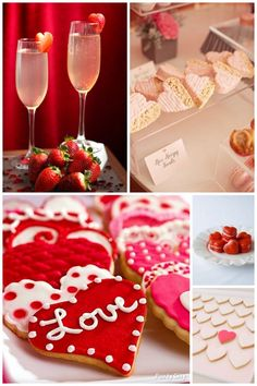 My ideas for a Valentine's Day cookie decorating Soiree! #llstyling #valentinesday