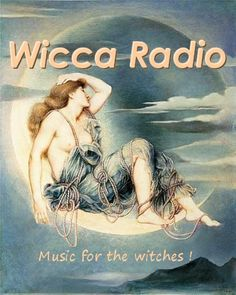 Online radio for Wiccans/Witches. They play a nice mix, some good for dancing, others for meditating, or even spell work.