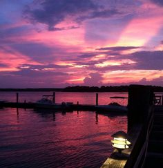 Dining with a sunset view on Hilton Head Island.