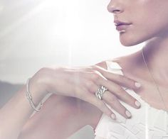 "Swarovski ""Voile"" Bracelet  #Swarovski #Jewelry #Crystals #FallWinter2013 #Bangle #MarianaCarmona #JewelleryDesigner #Wedding"