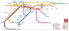 Futuro mapa del Metro de Caracas