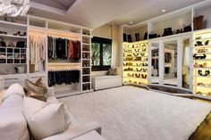 Luxury House Interior Design Tips And Inspiration Dream Closet Design, House Design, House, Home, Luxury Closet, Beach Mansion, Closet Designs, Luxury House, Closet Decor
