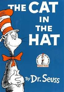 "March 12, 1957: One of the most beloved children's books,""The Cat in the Hat"" by Dr. Seuss (Theodor Geisel), is published. The book was written in response to an article that called existing kid's books boring. Houghton, Mifflin, & Random House approached Geisel with an offer: Write a new children's primer using a list of 250 vocabulary words that would also hold a kid's interest. Less than a year later ""The Cat in the Hat"" was finished. - ""It is fun to have fun, But you have to know how."""