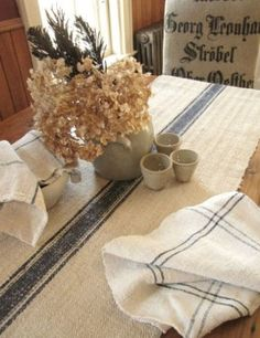 101 Uses For Vintage Linens (including The Obvious Ones.)