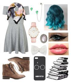 """""""Untitled #185"""" by catiepayne ❤ liked on Polyvore featuring Topshop, H&M, CLUSE, Charlotte Russe, Decree and LASplash"""