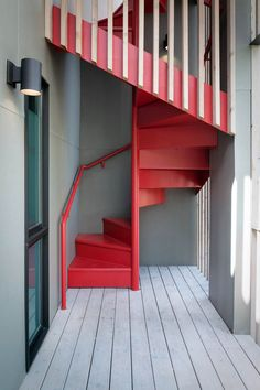We Welcome you to our latest collection of 35 Amazing Spiral Staircase Design Inspiration. Check out and grab the best design for your house. Loft Stairs, Staircase Railings, House Stairs, Under Stairs, Staircase Design, Stair Design, Spiral Staircases, Interior Stairs, Interior Design Living Room
