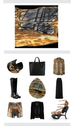 """10 Gems - Picasso Marble"" by une-fille-cannellesque ❤ liked on Polyvore"