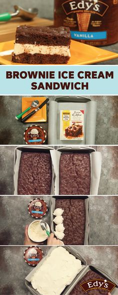 You can't beat a classic—that's why Edy's Slow Churned Vanilla light ice cream is still one of your family's favorites. See how it adds delicious creamy flavor in this recipe for Brownie Ice Cream Sandwiches! Plus, your kids will love helping you mix the batter and spread the light ice cream to make this dessert.