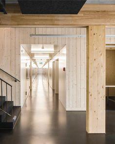 Die Vierfach-Sporthalle zweier Schulzentren ist seit August 2012 das Glanzstück im schweizerischen Sargans. Aufgrund ökologischer Gesichtspunkte stand bei