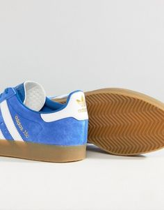 Sneakers+by+adidas+Originals++++Perforated+suede+upper+++++Lace-up+fastening++++Branded+tongue+and+cuff+++++Padded+for+comfort+Three+stripe+detail+to+side+++++Contrast+sole++++Moulded+tread++++Treat+with+a+leather+protector++++100%+Real+Leather+UpperSupplier+code:+BY1862 http://rfbd.cm/rp95ff089b
