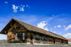 Leadville, CO - The Old Train Depot, moved years ago to the old smelter site on the south end of Stringtown