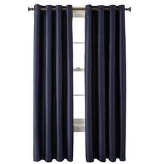 Royal Velvet® Plaza Grommet-Top Curtain Panel - JCPenney