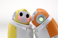 PaPeRo, domestic robot by NEC Corporation (Japan)