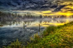 Autumn morning by borisfrkovic. Please Like http://fb.me/go4photos and Follow @go4fotos Thank You. :-)
