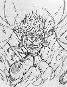 Dragon Ball Z, 7th Dragon, Dragon City, Dbz Drawings, Gogeta And Vegito, Ball Drawing, Dragon Images, Anime Sketch, Skull Art