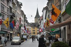 Zurich- Switzerland day Zurich, Switzerland, Street View, Good Things, World, Studios, Travel, The World, Viajes