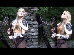SKYRIM / MORROWIND Medley (Harp Twins electric) Camille and Kennerly I find Celtic harp music soothes my soul. I would love to explore the location they filmed this video Scottish Music, Celtic Music, Stand Up Comedy, 2 Movie, Original Music, Relaxing Music, Elder Scrolls, Led Zeppelin, Skyrim