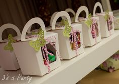 Enchanted Butterfly Garden- Party Favors