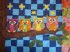 17 Best ideas about Owl Baby Quilts on Pinterest | Owl ...