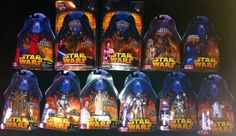STAR WARS REVENGE OF THE SITH LOT OF 11 ACTION FIGURES by HASBRO (2005)
