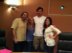 """One of our last ADR sessions with Tom Welling before """"Smallville"""" ended"""
