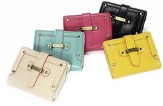 Cute Small Size Wallet In Your Choice Of 5 Great Colors
