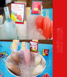 Kathryn Shores Photography: Baby Blaz's Book Shower ~ Lake County Baby Shower Photographer MR. BROWN CAN MOO CAN YOU, WITH MILK ON ICE
