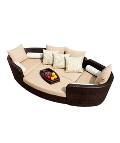 Sirio® Gondola Deep Seating 4-Piece Set by Patio Perfection: Outdoor Furniture