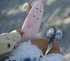 Skate :: Ride Barefoot :: Free Spirit :: Gypsy Soul :: Eco Warrior :: Skater Girl :: Seek Adventure :: Summer Vibes :: Skateboard Design + Style :: Free your Wild :: See more Untamed Skateboarding Inspiration Penny Skateboard, Skateboard Design, Skateboard Girl, Carver Skateboard, Board Skateboard, Skates, Skater Girl Style, Surfboard Fins, Beach Vibes