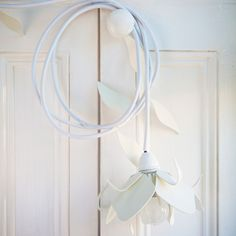 Flower Light – White from Spring in TinTown - (Save Flower Lights, Fresh Outfits, Buy Shoes, Best Brand, Lighting Design, Flower Power, Light Up, Fashion Online, Fashion Accessories