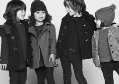 Tot-sized Burberry spotted in the Burberry Fall 2013 Kids Campaign