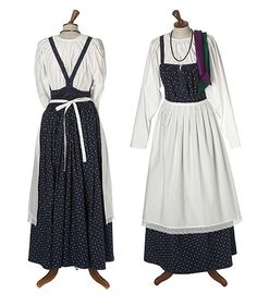 Eastern Orthodox Karelian feresi or sarafaani - Helmi Vuorelma Oy Vikings, Viking Dress, Blue Vests, Ethnic Outfits, Folk Costume, Historical Clothing, Dance Outfits, Modest Fashion, Vintage Outfits