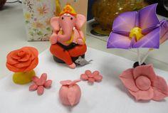 Rangoli Color clay dough Ganesha Regular | www.iKolam.com