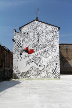 Millo - Italy - #streetart
