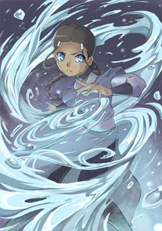 Waterbender Katara by *nargyle on deviantART