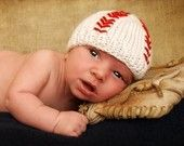 Baby baseball beanie
