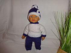 Puppensachen Nr.167 mit Puppe von Marions-Strick-und-Bastelecke auf DaWanda.com
