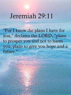 I want Jeremiah 29:11. That alone or the entire verse. This verse has helped me through so much. There has been countless times when I just wanted to give up, to just accept that I was a failure, b...