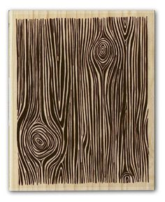 a wood grain stamp! i need this! no idea what i'd use it for but i need it ;)
